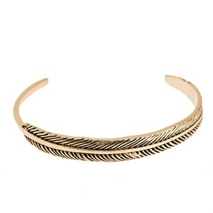 Feather bangle, new